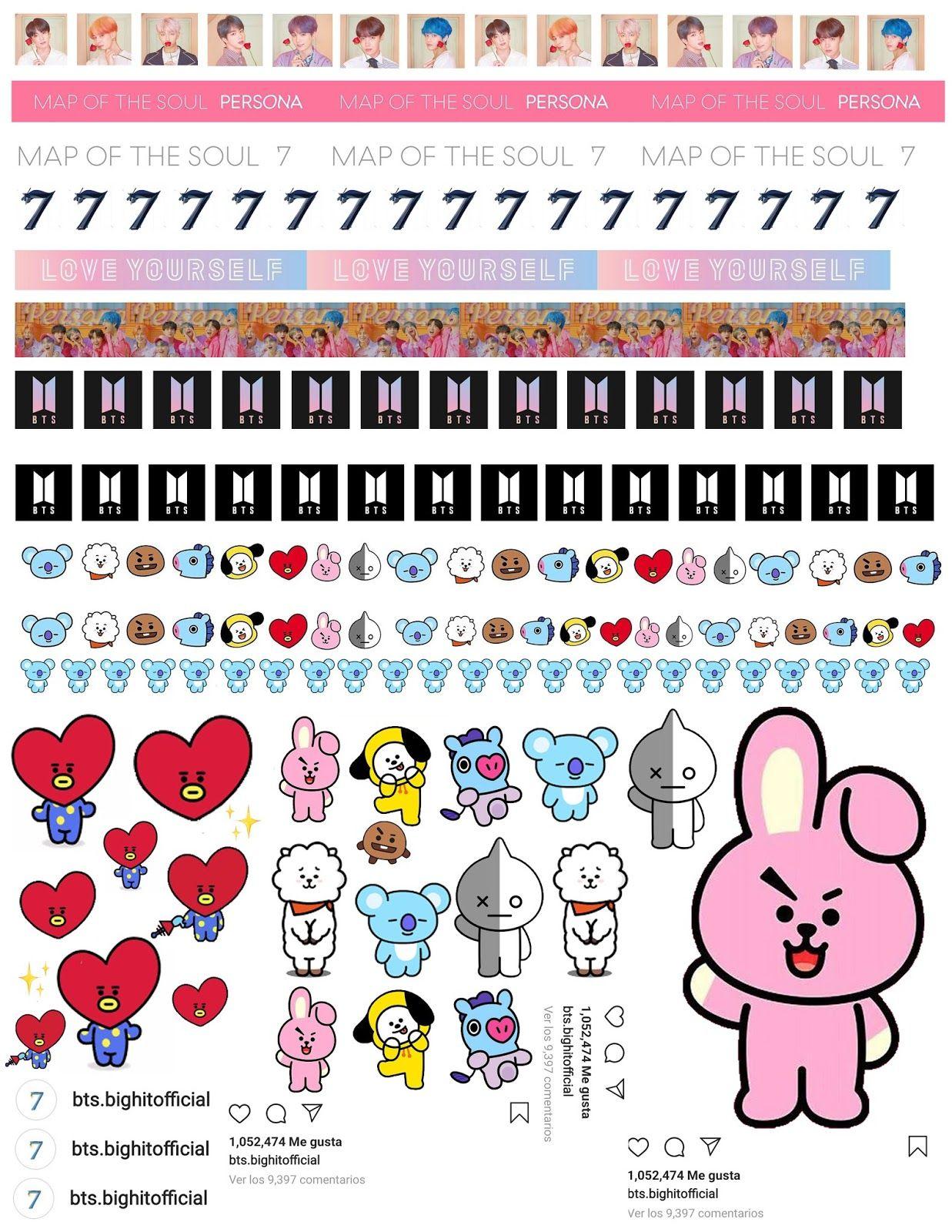 Akari Beauty Official 50 Diys De Utiles Escolares Que Toda Army Necesita Tener De Bts En 2020 Pegatinas Bonitas Pegatinas Imprimibles Pegatinas Para Imprimir Gratis