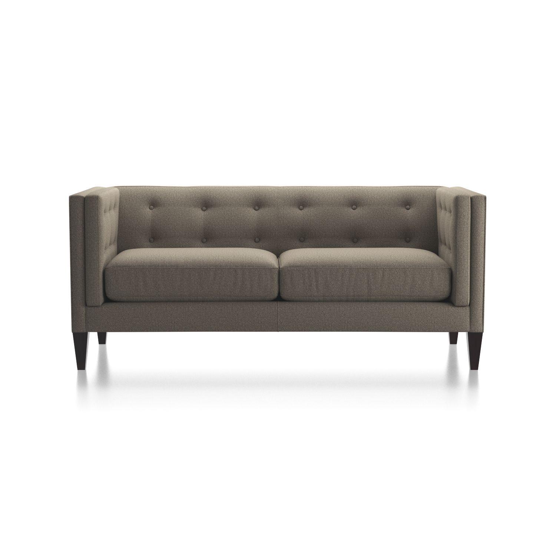 Miraculous Aidan Tufted Apartment Sofa New House Interior Grey Dailytribune Chair Design For Home Dailytribuneorg