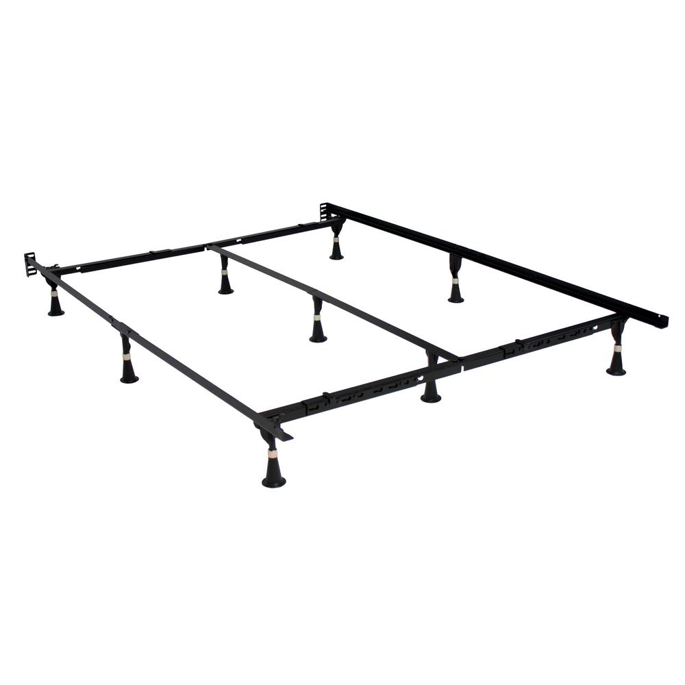 Hollywood Bed Frame Adjustable Metal Bed Frame 7079bsg I Steel