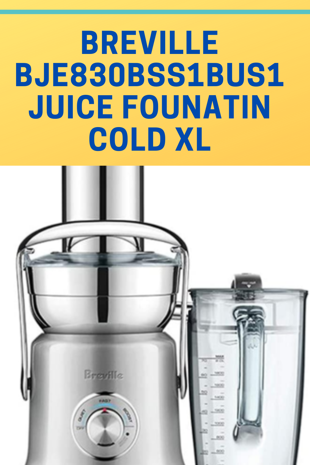 Juice Fountain Cold XL