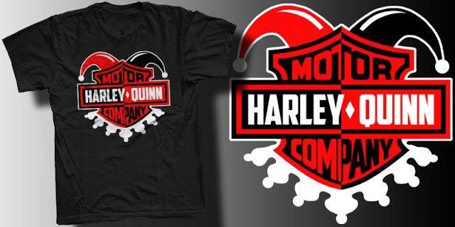 If harley quinn ran harley davidson t shirt geek fashion gear if harley quinn ran harley davidson t shirt voltagebd Gallery