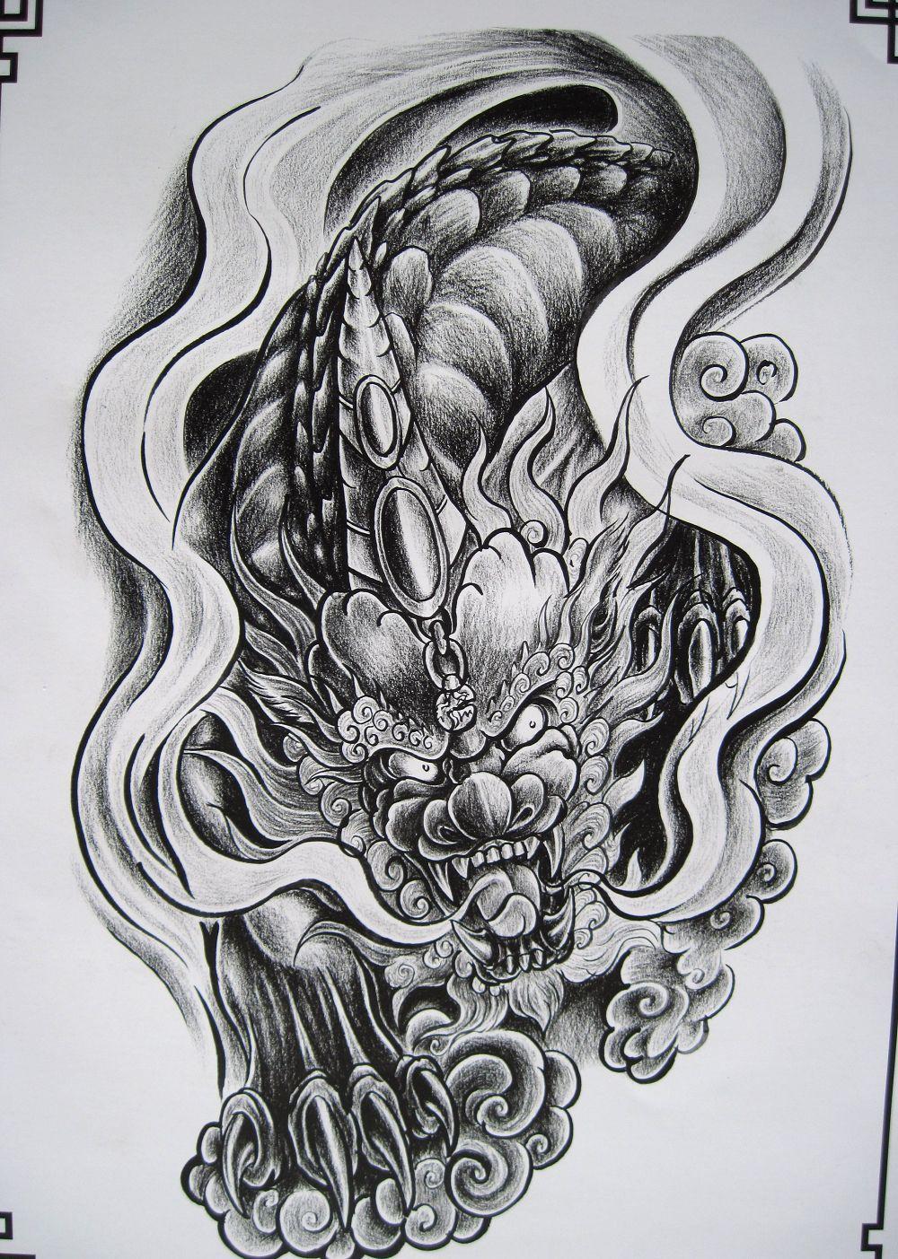 Design Tattoo Pdf Phac Thảo Hinh Xăm Hinh Xăm Mực Hinh Xăm Nhật
