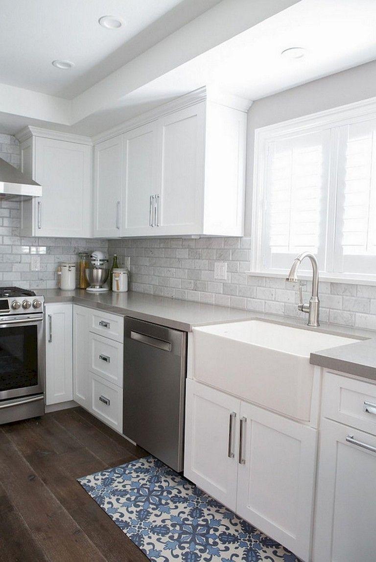 56+ Lovely Beautiful Kitchen Backsplash Tile Patterns