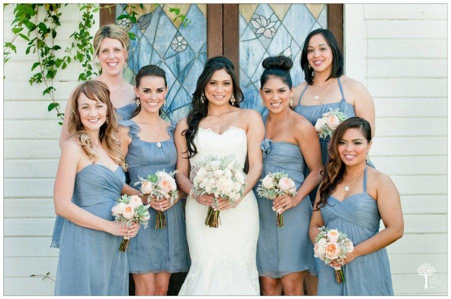 Powder Blue Bridesmaid Dressesbarr Mansion Wedding Photographer  Jenny Demarco Photography Xtbhyidn