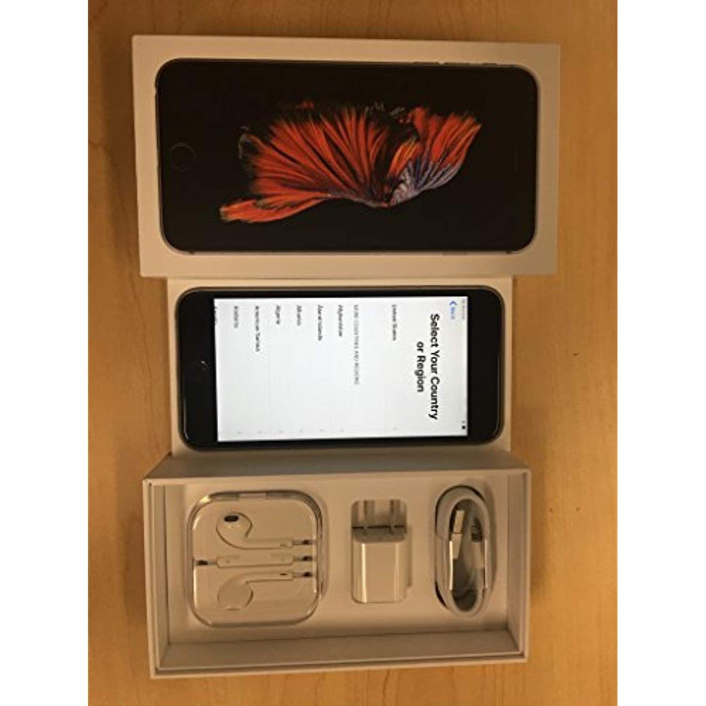 Apple iphone 6s plus 64gb space gray factory unlocked