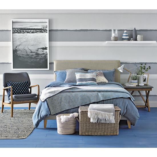 Beach Themed Bedrooms Coastal Bedrooms Nautical Bedrooms Projektowanie Wnetrz Wnetrza Sypialnia