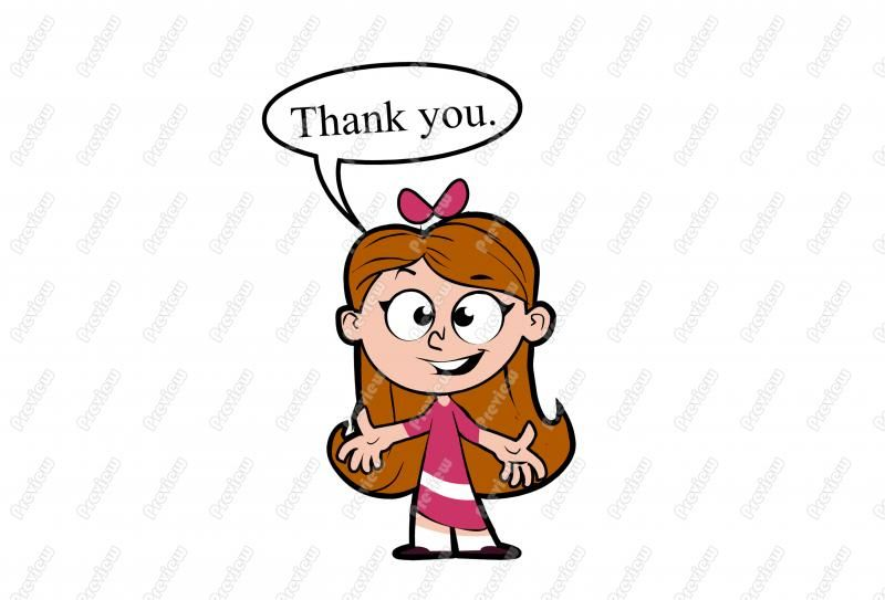 Pin by Simonne Alves on Thank you!   Little girl cartoon ...