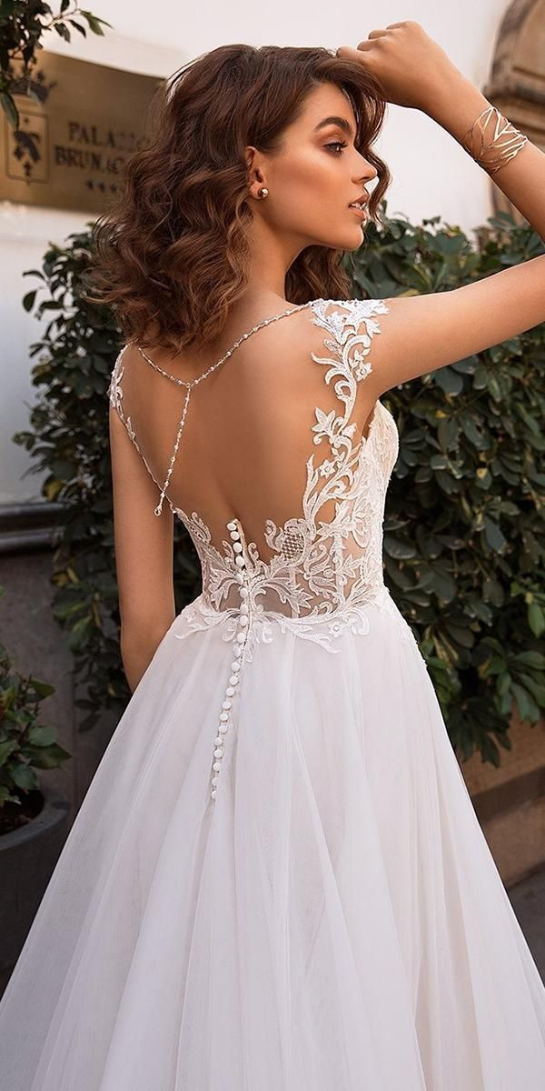 30 Sophicticated Backless Wedding Dresses
