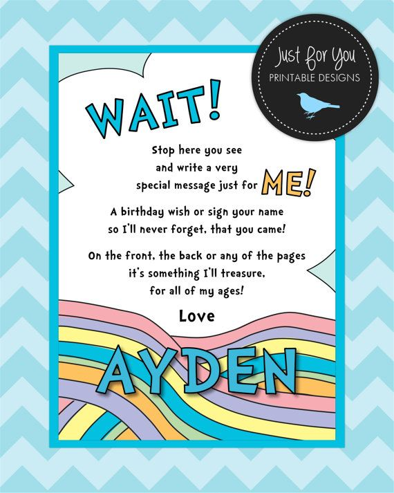 Five Wishes Printable Copy