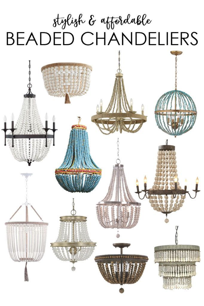 Where to Buy Beaded Chandeliers on the Cheap Affordable
