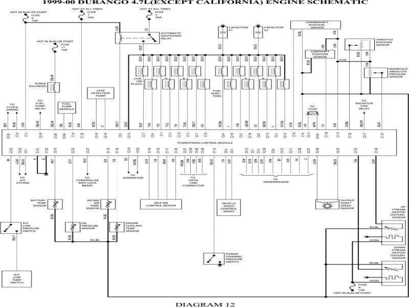 2002 dodge durango wiring diagram - gooddy | dodge dakota, diagram, dodge  pinterest