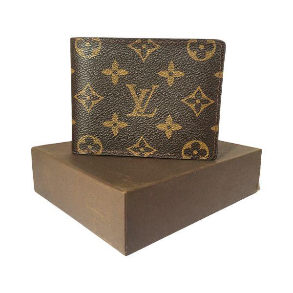Louis Vuitton Mindoro Leather Wallet. #wallet, #clipper, #men, #women, #fashion, #india