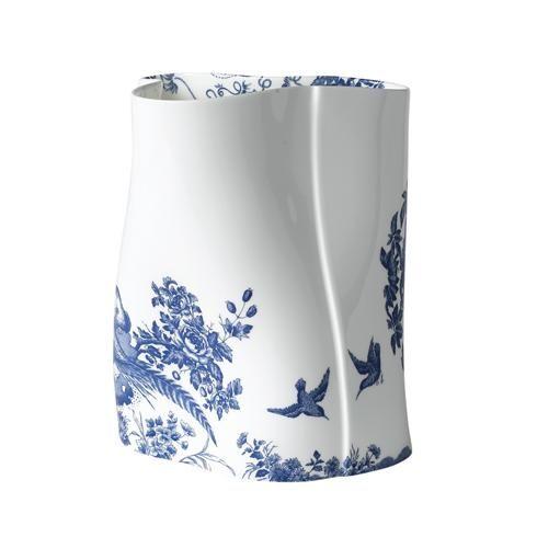 Eastman Blue Aves Vase