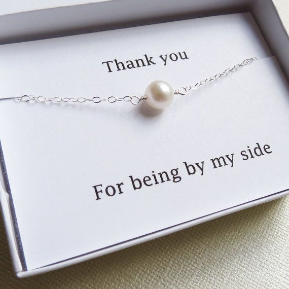 Hey, I found this really awesome Etsy listing at https://www.etsy.com/listing/160590805/one-pearl-bracelet-bridesmaids-jewelry