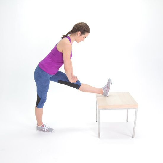 Standing Hamstring Stretch Hamstring Stretch Tight Hamstrings Stretches For Legs