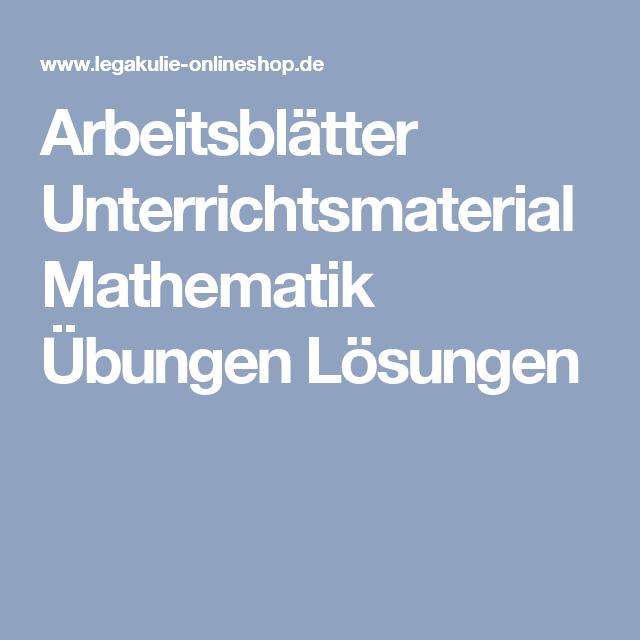 Beste Frei Bedruckbare Mathe Arbeitsblätter Mit Antwortschlüssel ...