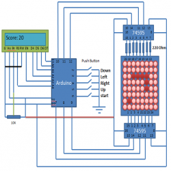 Phenomenal Circuit Diagram Of Snake Game Using Arduino Arduino Projects In Wiring Database Lotapmagn4X4Andersnl