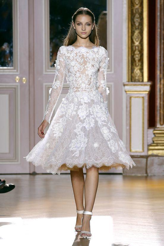 17 Best images about Short Wedding Dress on Pinterest | A line
