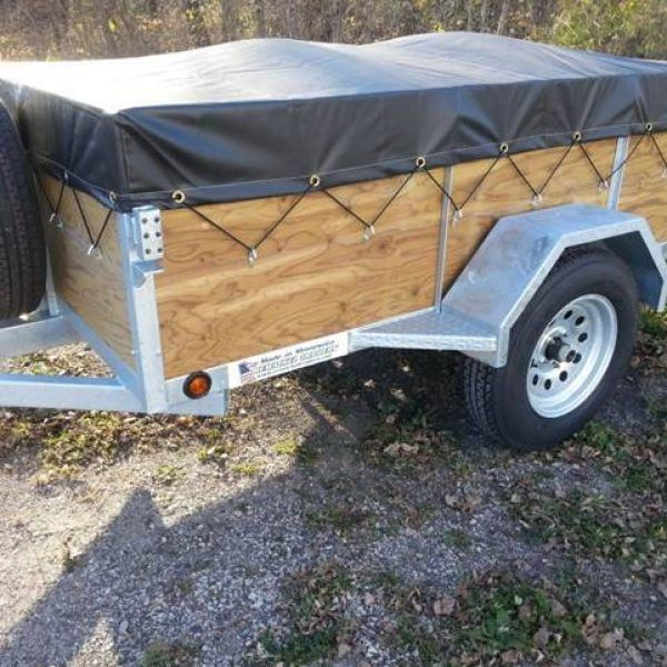 6 Place Canoe Or Kayak Trailer Trailer Plans Kayak