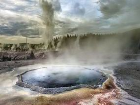 A VOLCANIC eruption in Yellowstone National Park could change the world as we…