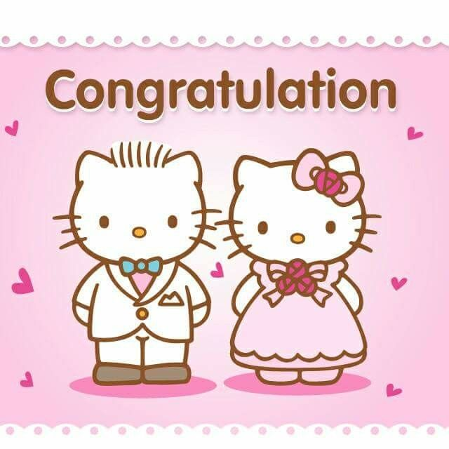 Daniel Et Kitty Hello Kitty Printables Hello Kitty Pictures Hello Kitty Wedding