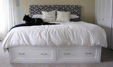 18 Gorgeous DIY Bed Frames | Muebles modernos, Carpinteria y Moderno