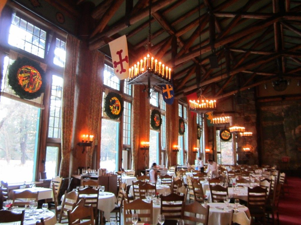 The Ahwahnee Hotel Dining Room Decorated For Christmas And The Bracebridge  Dinner   Yosemite National Park