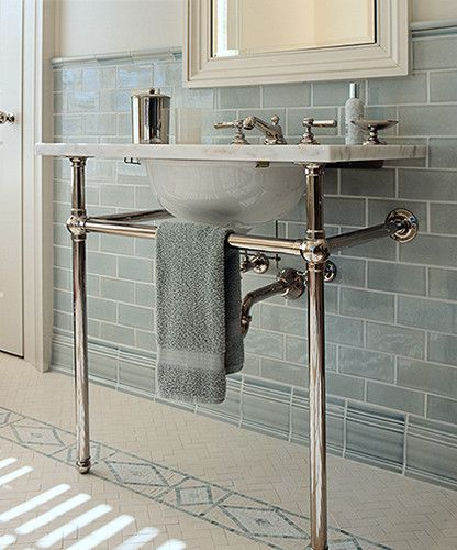 1912 Foursquare Design, Our Cottage Bathroom/powderoom