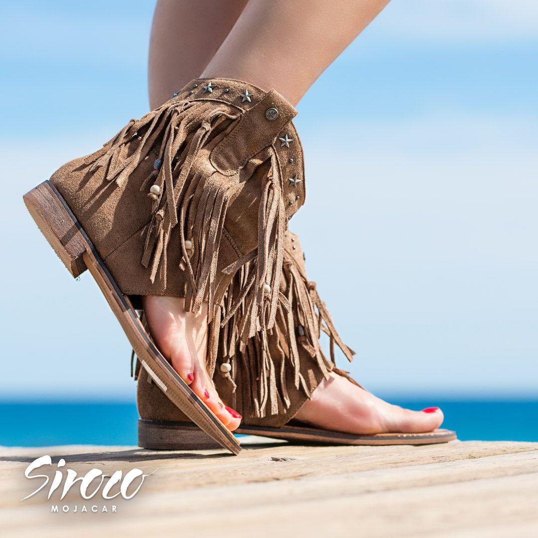 f06b5798f20 Las #botas sandalias de #sirocomojacar nos gustan porque están diseñadas al  más puro #