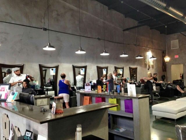 Studio99 In Katy Texas Industrial Salon DebbieKrug