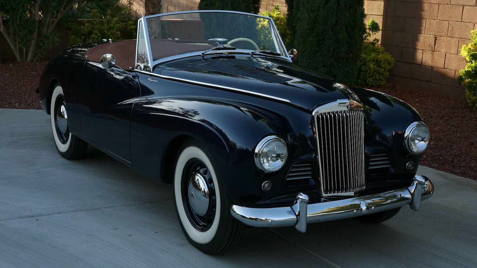 1955 Sunbeam Alpine Mark III Convertible presented as Lot