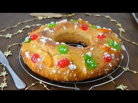 Roscon De Reyes Facil Youtube Roscon De Reyes Casero Roscon De Reyes Comida