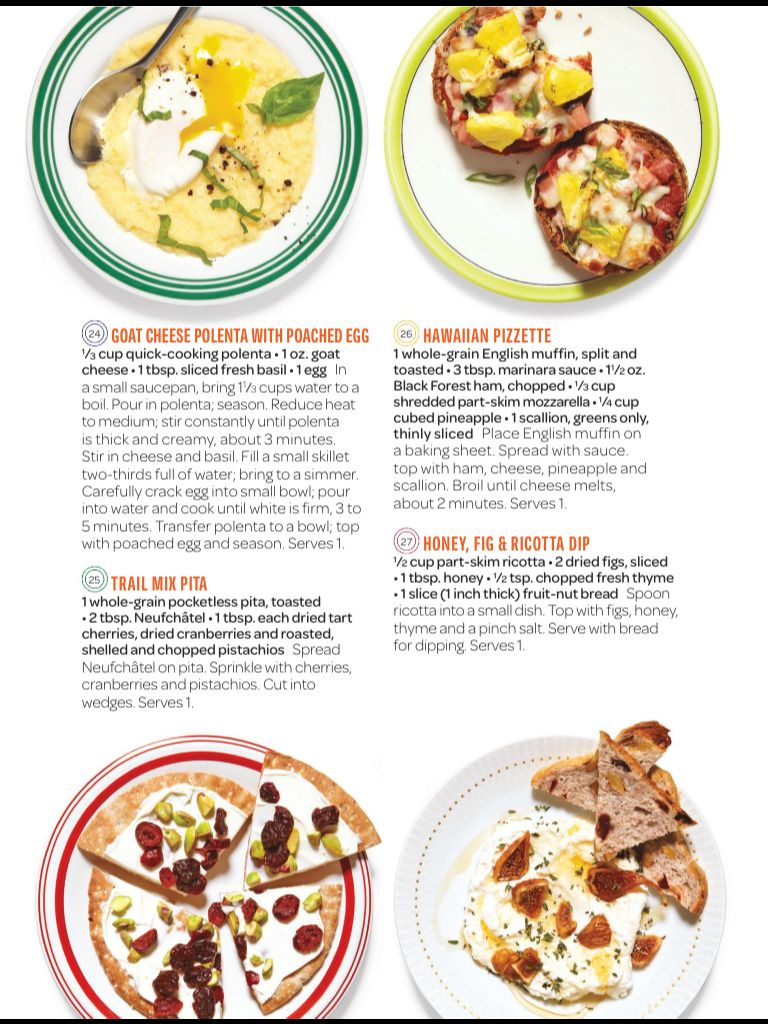 Goat cheese polenta with poached egg recipe looks fab!