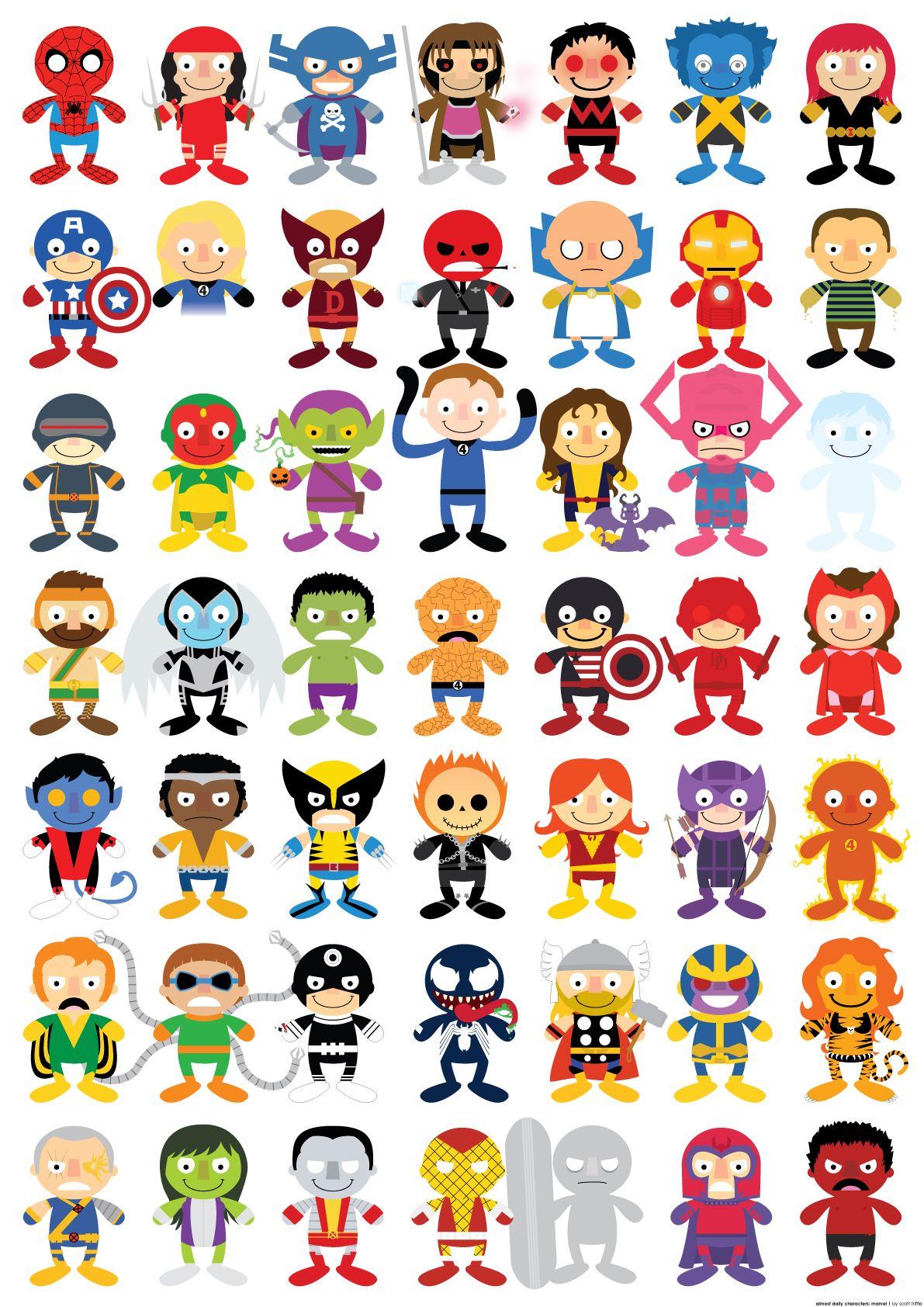 Marvel Heroes Symbols Next To Name All Superheroes Names Car