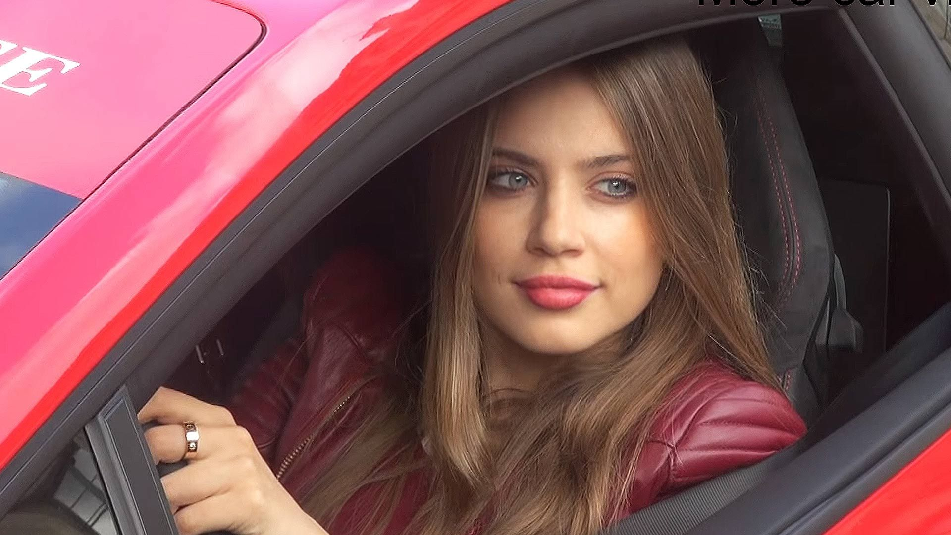 Poor Credit Car Loans >> Xenia Tchoumitcheva In this video you will see the beautiful swiss-italian & russian fashionista ...