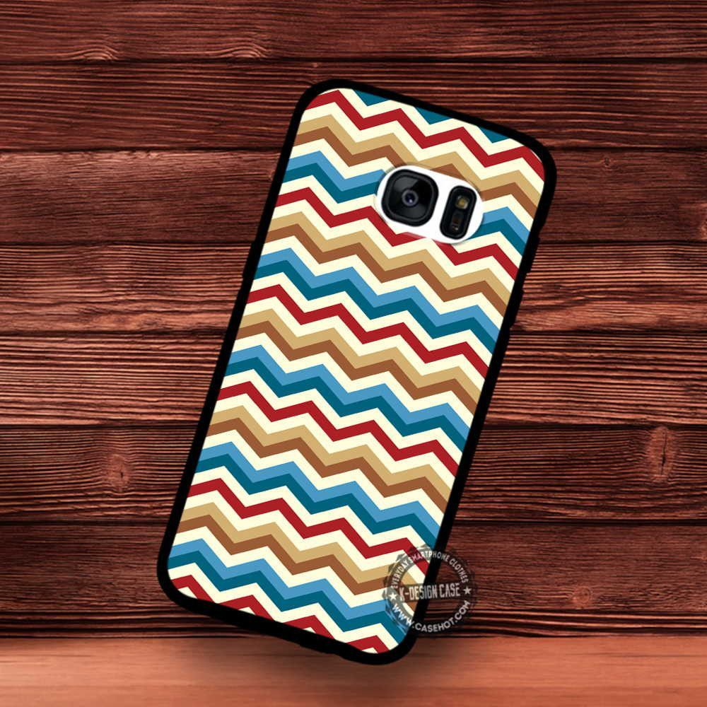 Chervon Vintage Pattern Art Personalized - Samsung Galaxy S7 S6 S5 Note 7 Cases & Covers