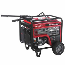 Honda Eb6500 5500 Watt Portable Industrial Generator Honda Generator Generators For Sale Portable Generator