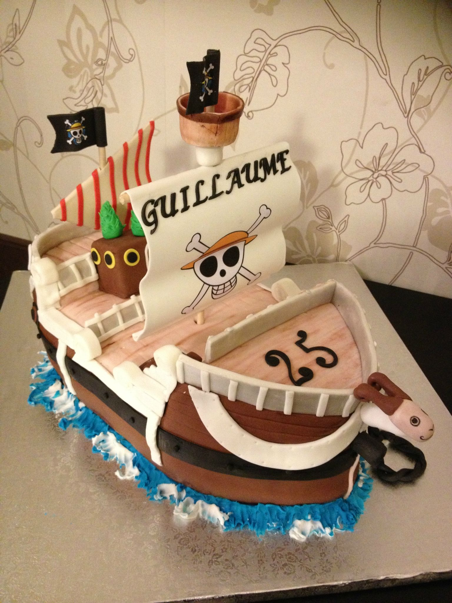 Top Gâteau de mariage One Piece | Cake, Cake designs and Food art XL87