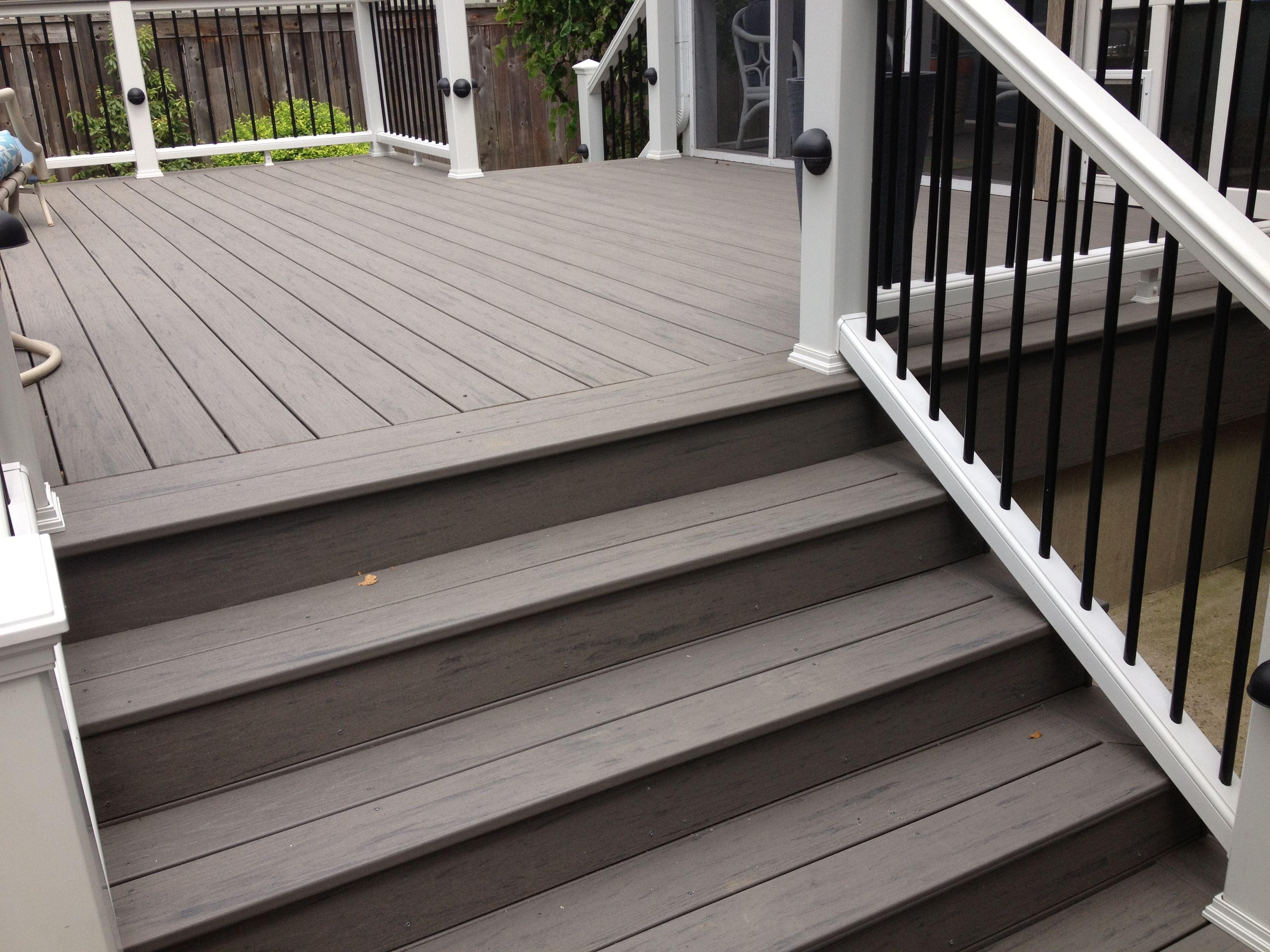 Extra wide 6 39 steps timbertech terrain deck pinterest Terrain decking