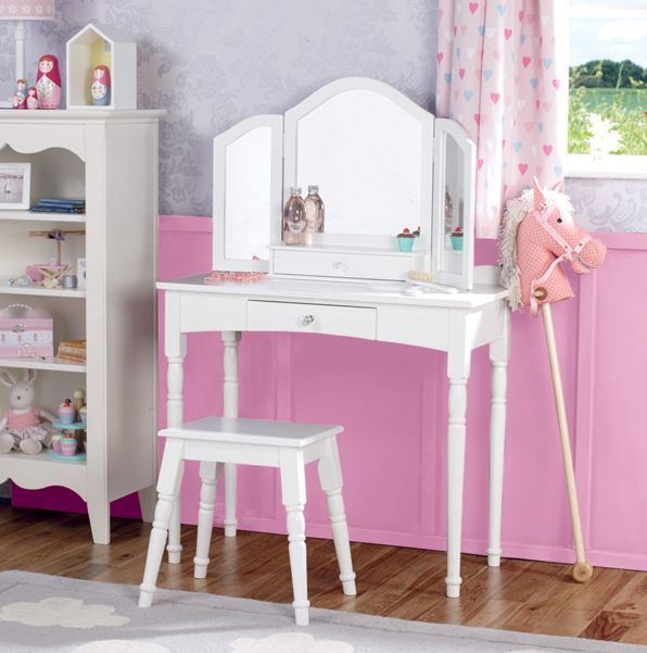 Dressing Tables Dressing Up Fancy Dress Kid S Dressing Up Clothes Storage Children S Mirrors Kid S Clothes Rails Pink Bedroom Ideas Chil Furniture Stool