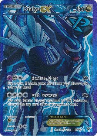 Pokemon cards black and white ex