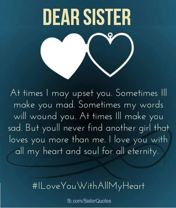 Sister quotes   Sisters   Pinterest   Happy birthday sister  Sister     Sister quotes