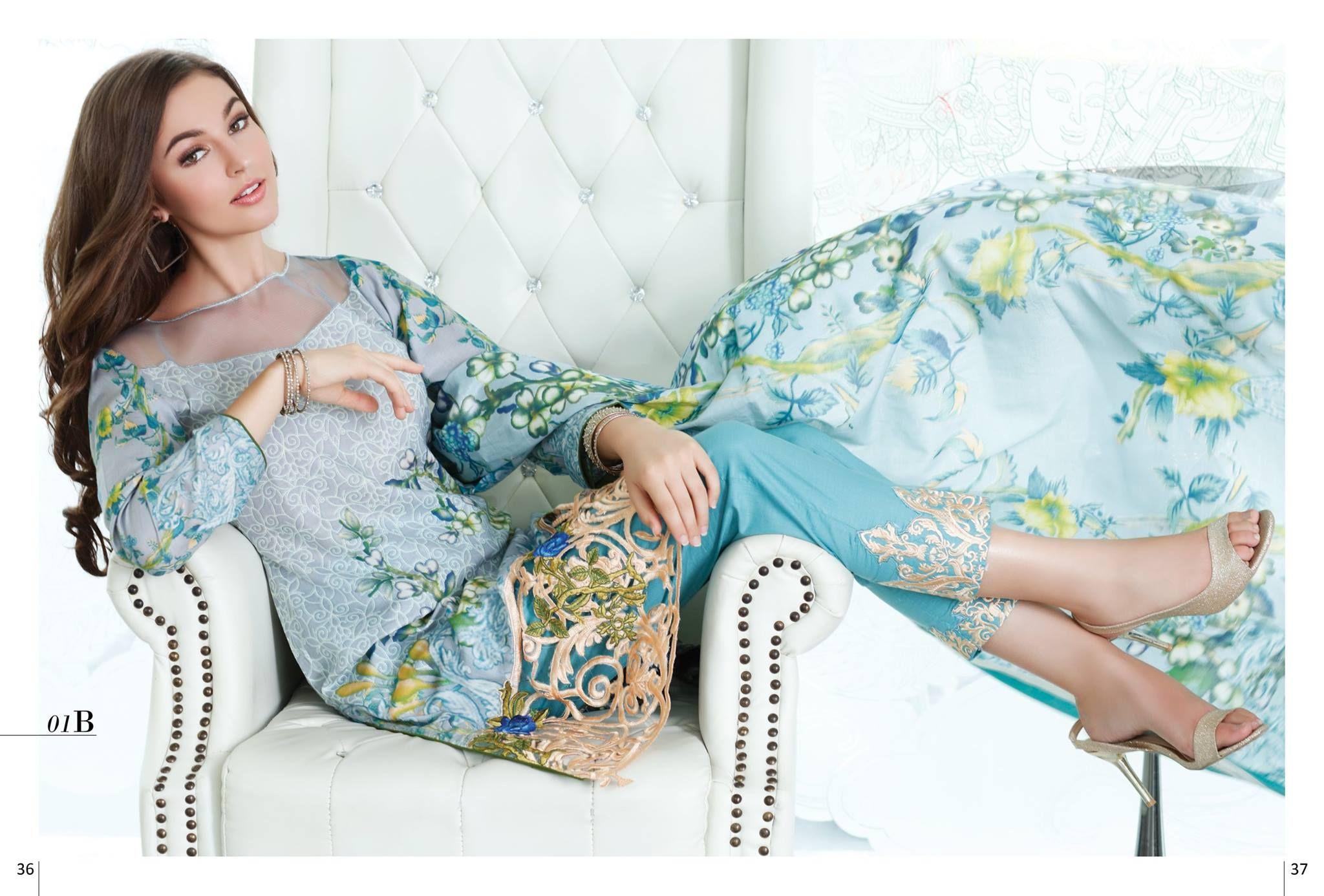 Mahnoor alzohaib latest eid dresses for women pakistani