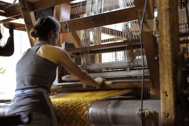 Manufacture Cogolin — Les métiers à tisser
