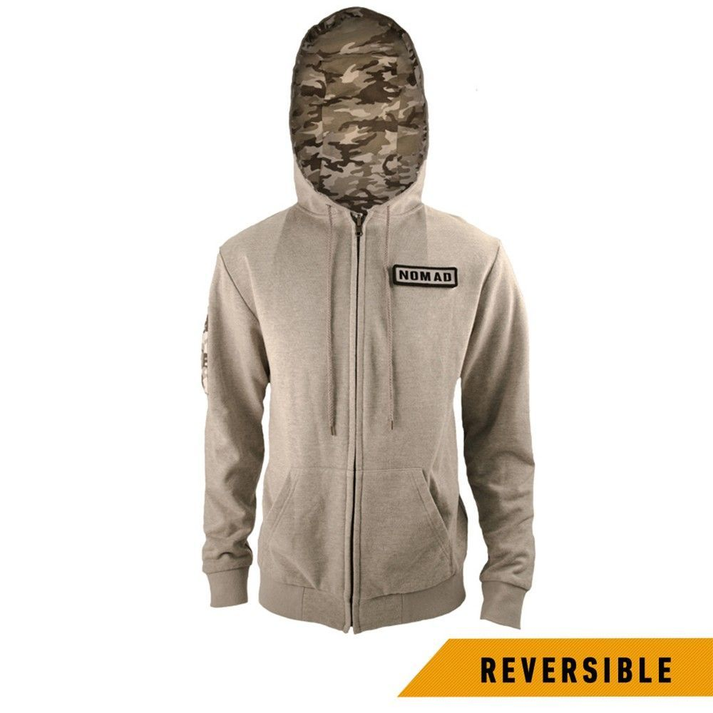 Men's Tom Clancy's Ghost Recon Wildlands Reversible Hoodie - XX-Large, Size: Xxl, Gray