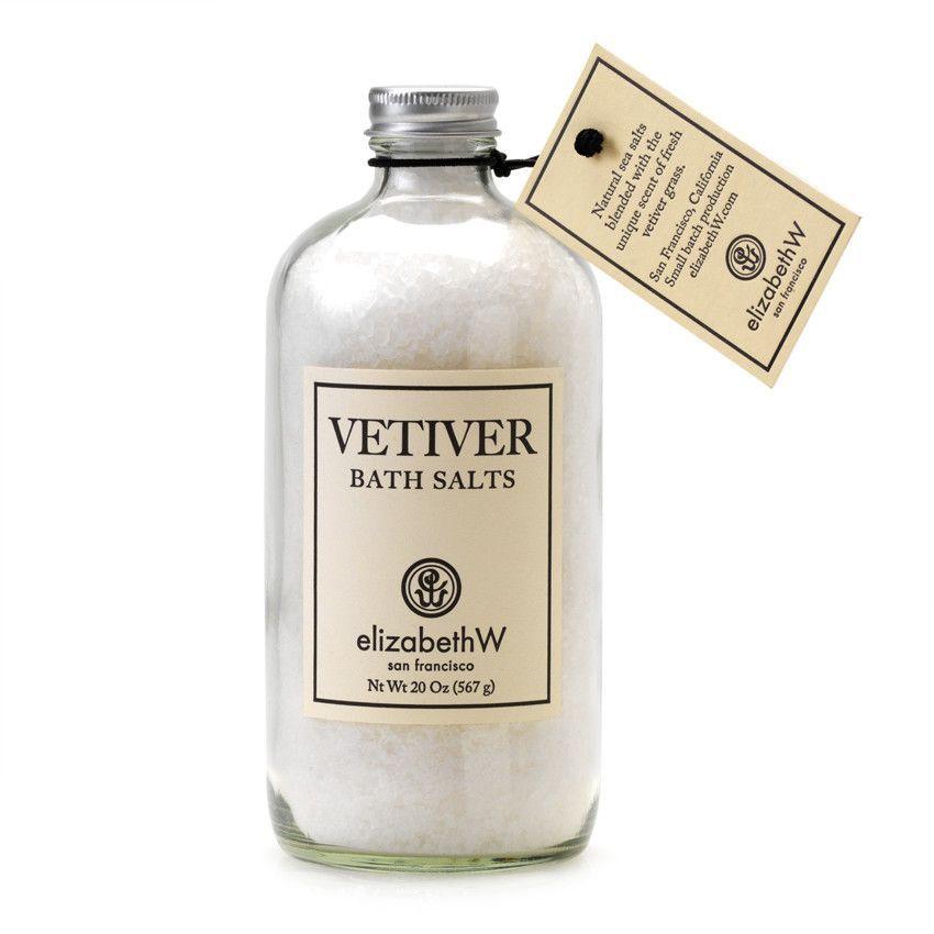 Vetiver Bath Salts In Bottle Bath Salts Bottle Perfume Bottles