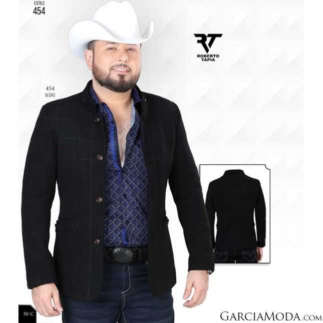 b25be1c03e Saco Lamasini Western Wear 454 Black in 2019