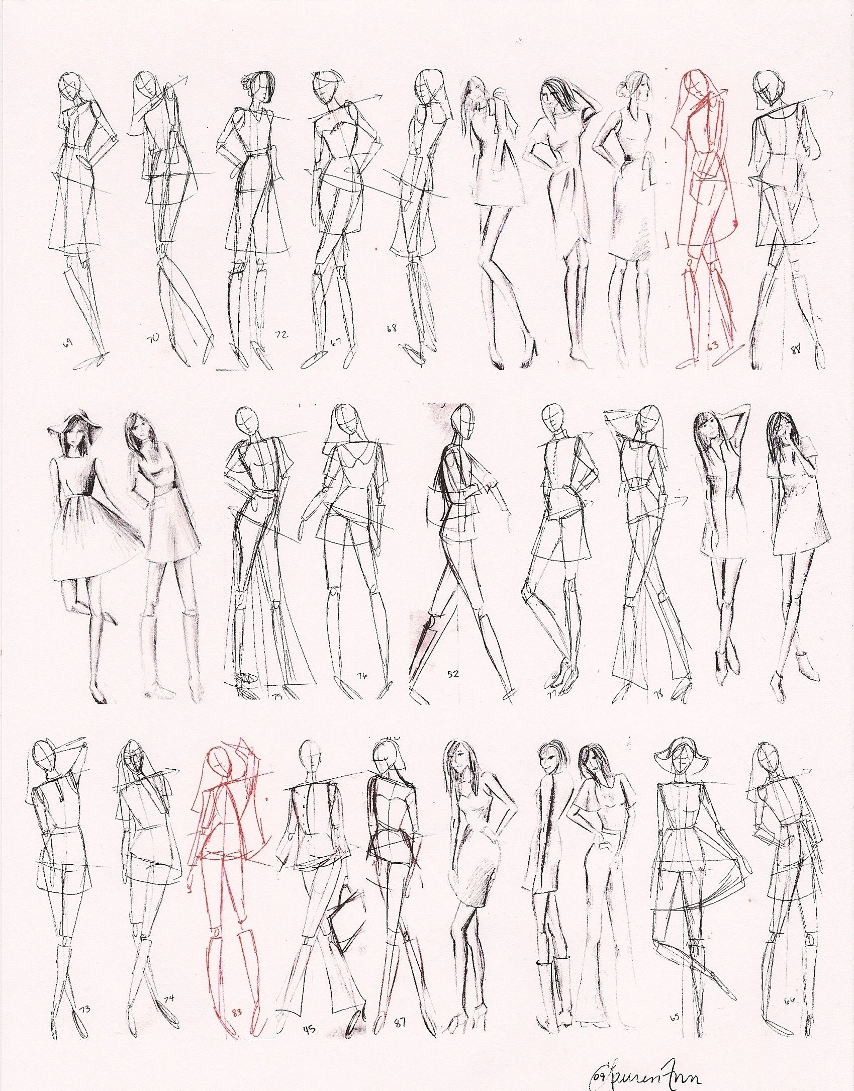 Images For How To Draw Fashion Figures In Simple Steps Fashion Figure Drawing Illustration Fashion Design Fashion Figures