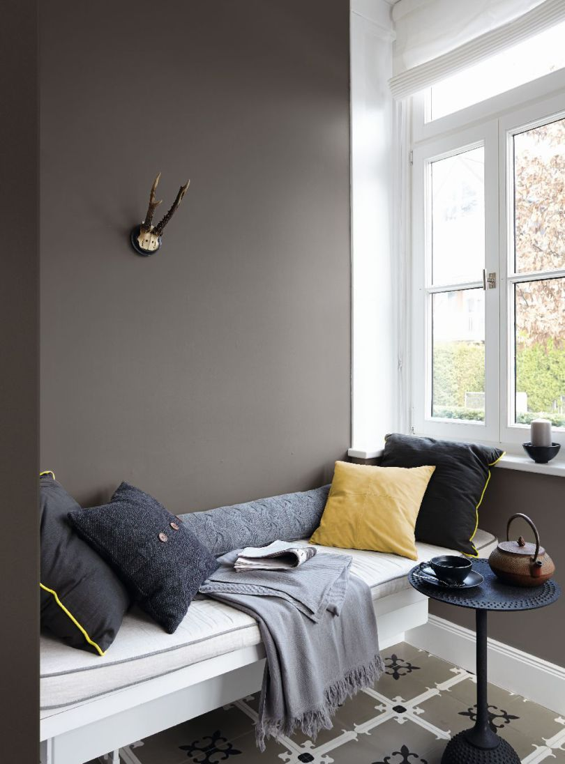 Schlafzimmer Design Violett Adelaparvu Despre Culorile Anului Paleta Gri  Color Trends