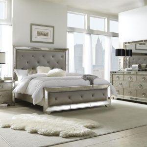 Genial King Bedroom Sets With Mirror Headboard